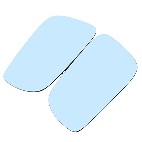 Side Mirror Glass,POSSBAY Wing Mirror Glass Heated Lens Anti-glare Replacement for Volkswagen Golf/R32/GTI/Rabbit 2004