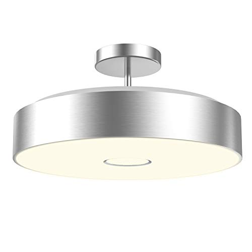 - Onforu Waterproof 32W LED Ceiling Light, CRI 90+, 12.8in, 300W Incandescent Bulbs Equivalent, IP65, 2800lm 2700K Warm White Semi Flush Mount Ceiling Lighting for Dining Room, Balcony, Living Room