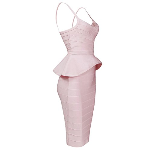 Blau Violett Violett Kleid Damen Pink HLBCBG wqFgt4t