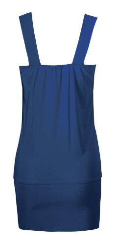 Generic - Débardeur - Femme bleu bleu marine XL