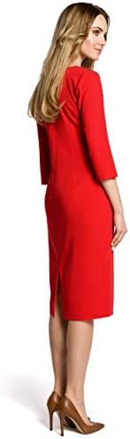 Made of Emotion Figure-Fitted Dress - Red