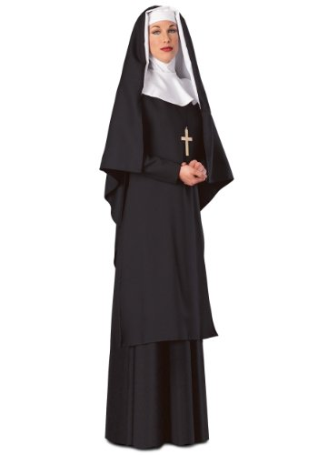 [Nun (Medium)] (Deluxe Nun Costumes)