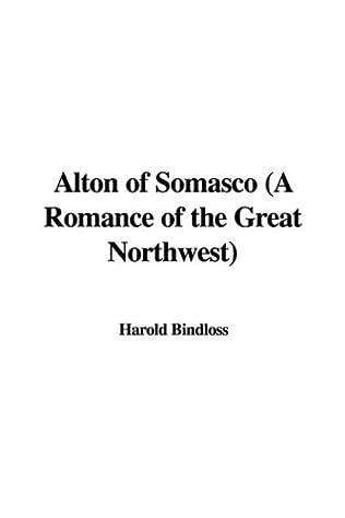 book cover of Alton of Somasco