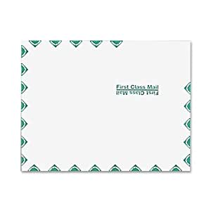 Quality Park Catalog Envelopes, First Class Border, 9 x 12-Inches, Box of 100 (54182)