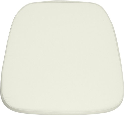 Flash Furniture Soft Ivory Fabric Chiavari Chair (Ivory Fabric Cushions)