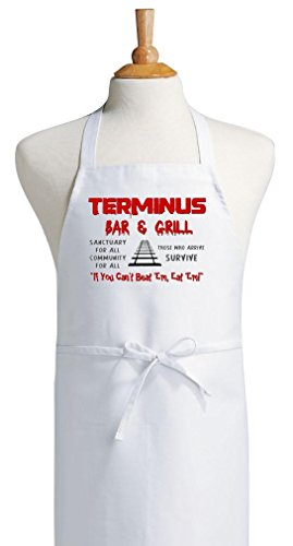 Walking Dead Terminus Cooking Apron, Halloween Party Aprons by -