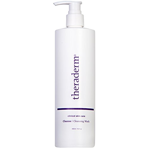 Theraderm Cleansing Wash: Oil Free, Soap Free, Perfect for All Skin Types 16oz