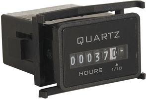 - Redington Counters, Inc. 722-0002 Hour Meter, Flush-Rectangular, 90-240VAC 50/60Hz, 6 figure, Hours & 1/10s