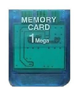 Playstation 1 Memory Card (1 MB)