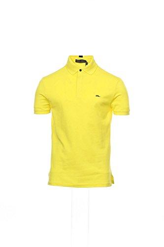 Ralph Lauren Black Label Yellow Polo Shirt Golf , Size Small