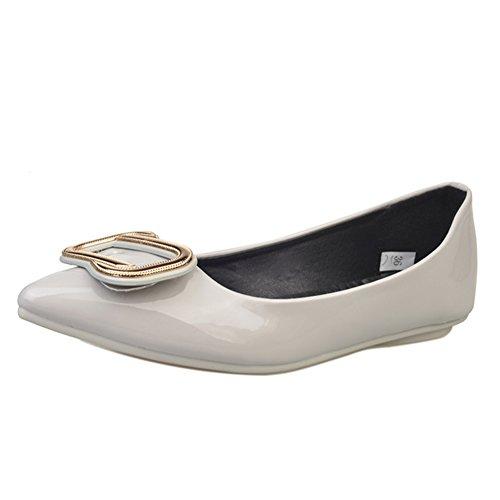 Salvaje europeas de luz puntiagudos las C Zapatos moda de americanas zapatos la y mujeres planos la Zapatos de Dama gBZxqw0C