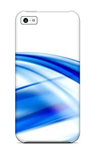 Fashionable ITSzzPa9457GUrAd Iphone 5c Case Cover For Abstract Blue Protective Case