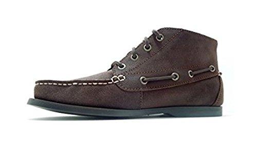 Polo Men's Ralph Lauren Barx Chukka-BO-CSL Oiled Suede Boot Brown Size 7