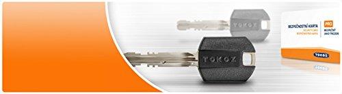 TOKOZ PRO 400 / Inforced Version/High Security Lock (Abloy Type) 5 Keys /ID Card (Exta key)