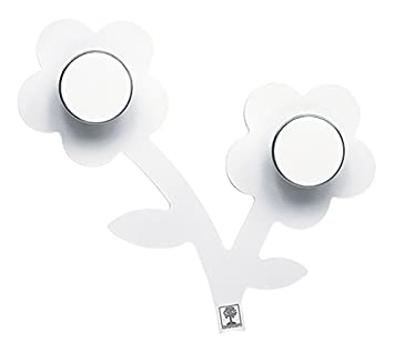 Foppapedretti Appendifiore Perchero de Pared, Blanco: Amazon ...