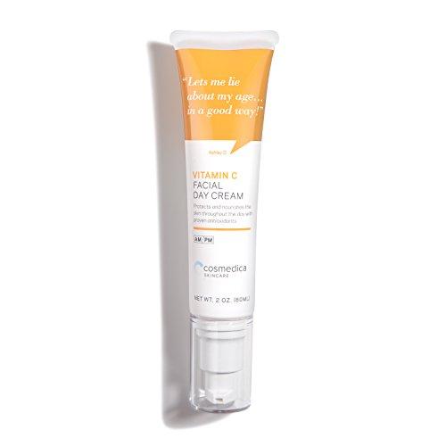 Multi Active Toning Lotion - Cosmedica Skincare Vitamin C Facial Moisturizer - 15% Vit C Facial Day Cream - 2 oz