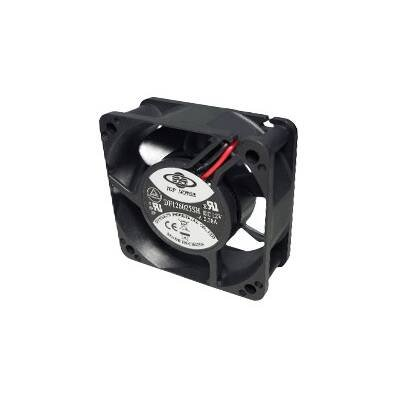 Top Motor DF126025BM-PWMG 60x60x25mm 12 Volt 2 Ball Bearing 7000 rpm 0.45 amp 5.40 watts 38.28 cfm 13.55 mm/H2O 48.10 dBA 4 wires PWM Function Cooling Fan ()
