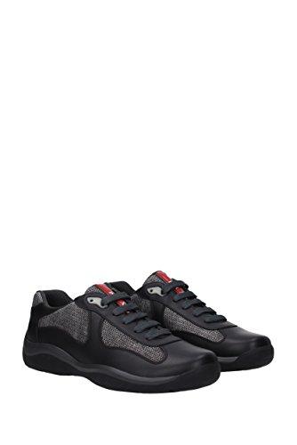 EU Tessuto Sneakers Nero Prada Uomo 4E2043NEVADABIKE xwUIqnZf