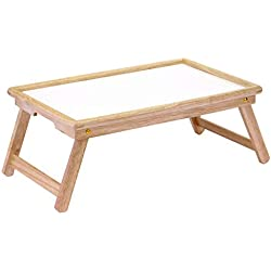 Winsome Wood Ventura Bed Tray, Natural/wht