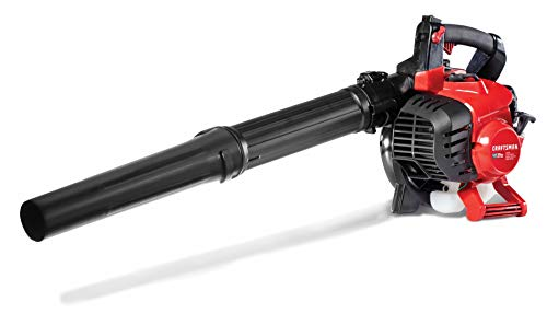 Vacuums Craftsman Blower - Craftsman CMXGAAMR27AB 27cc, 2-Cycle Full-Crank Engine Gas Powered Leaf Blower