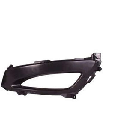 (CPP Primed Plastic Driver Side Fog Light Trim for 2011-2013 Kia Optima KI1038108)