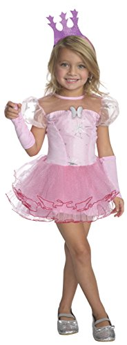 Toddler Good Witch Costume (Rubies Wizard of Oz 75th Anniversary Glinda the Good Witch Tutu Dress Costume, Toddler Size)