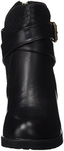 Xti Botin Sra. C. 46213 - Botas cortas con tacón Negro (Negro)