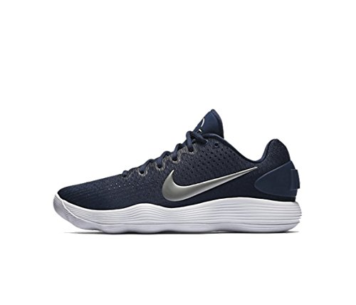 Shoe Silver Low White 13 Midnight Basketball Navy Size Hyperdunk Mens Nike Metallic HOWwnTIx