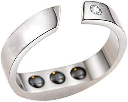 Fanuse Anti-Schnarch Ring Magnet Feld Therapie Akupressur Behandlung Gegen Schnarch Ger?T Schnarch Stopper Finger Ring Schlaf Hilfe Schlaf Hilfe, L Gr??E: 5.9-6.5Cm