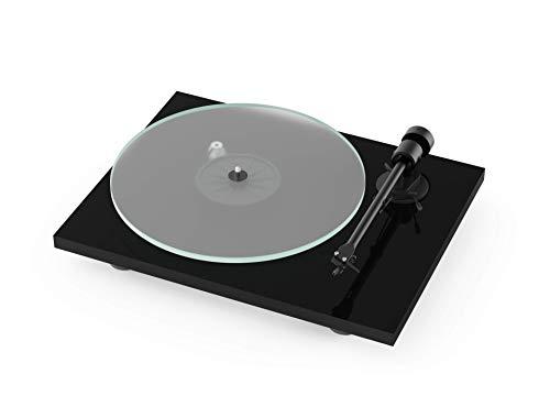 Pro-Ject T1, Audiophiler instapplatenspeler van de nieuwe generatie zwart Pro-Ject T1