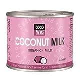 Cocofina Organic Coconut Milk - Mild 200ml (Pack of 24)