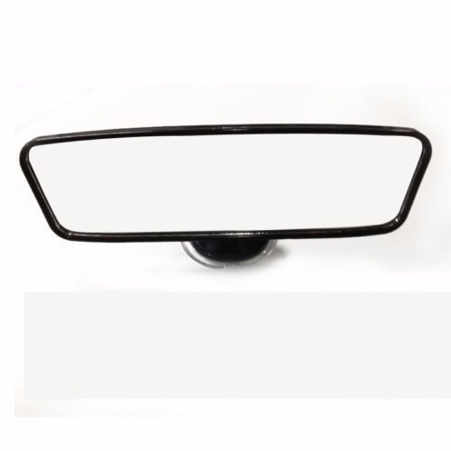 Universal 260mm Wide Flat Car Truck Mirror Interior Rear View Mirror Suction (Cooper Wire Wrap)