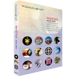 Zero G World Pack ACID WAV Sample Library (2 DVD Set) 2 Sample Library Dvd