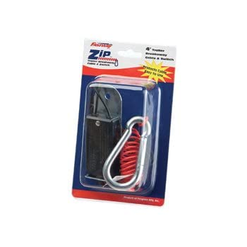 80-01-2140  Fastway Trailer//Camper Zip 4/' Trailer Breakaway Cable Coiled cable