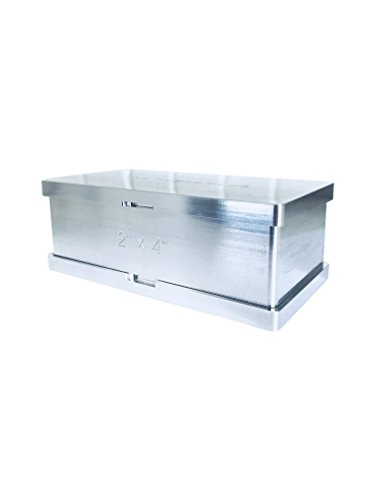 Rosin Pre Press Mold  2'' x 4''  Pure Aluminum  Increase Yields 5X  4 Sizes Available by The Press Club