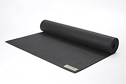 Jade 68-Inch by 1/8-Inch Travel Yoga Mat (Black) by Jade ...