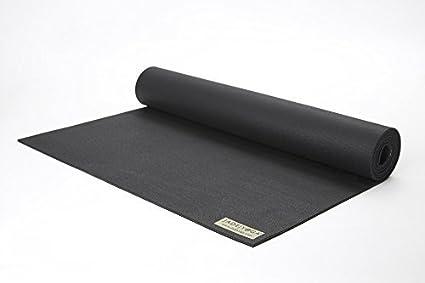Jade 68-Inch by 1/8-Inch Travel Yoga Mat (Black) by Jade ...