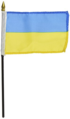 US Flag Store Ukraine Flag 4 x 6 inch