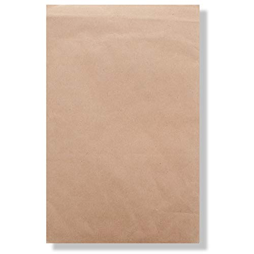 Jiffy Padded Mailer - Self Seal, All-Purpose Self-Seal Closure, 100% Recycled Paper Fibers, Cushioning Protection, 100% Recyclable (# 5, 10-1/2 x 16, Natural Kraft,Pack of 100) - Sealed Air - Jiffy Standard Steamer