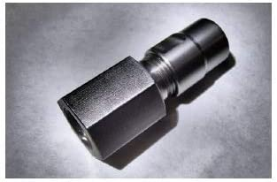 Flapper Adapter Metric M12 x 1.75 Thread with 1//4 Collet