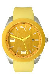 Puma Grip - L Yellow Men's watch #PU102701004