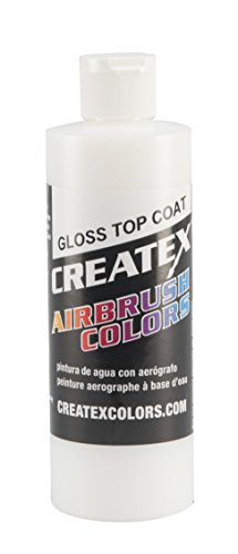 (Createx Colors Gloss Top Coat for Airbrush, 8 oz)