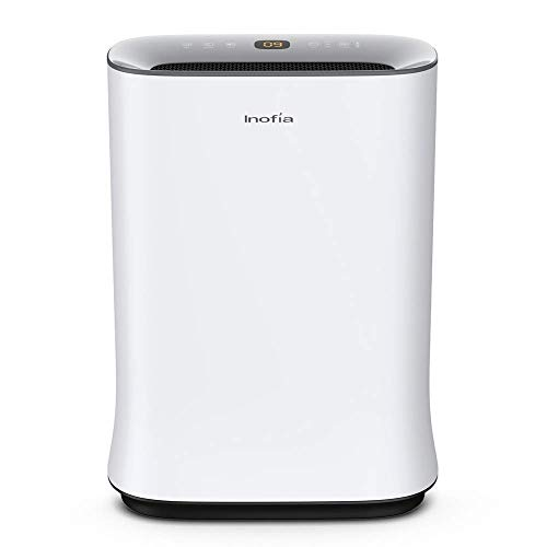 Inofia Air Purifier with True HEPA Air Filter, Air Cleaner for Large Room, for Spaces Up to 800 Sq Ft, Perfect for Home Office with Filter – 2 Year Warranty