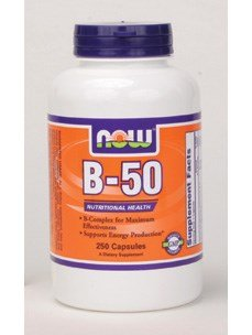Now Foods B-50, 250 caps ( Multi-Pack) by NOW