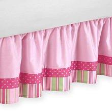 Sweet Jojo Designs Jungle Friends Bed Skirt for Toddler Bedding Sets