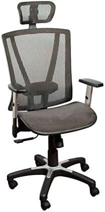 Ergomax MSH112BR Ergonomic Height Adjustable Home Office All Mesh Desk