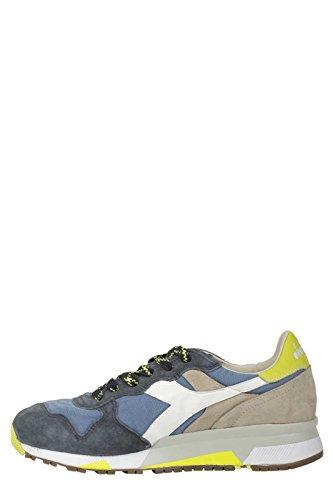 Diadora - Zapatillas de Piel para hombre azul turquesa