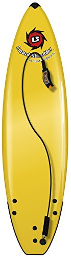 Liquid Shredder Element Soft Surfboard, 5', Yellow by Liquid Shredder