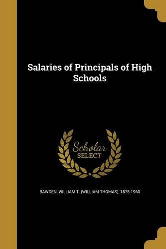 Salaries of Principals of High Schools