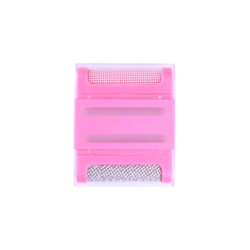Winner666 2019 Lint Clothes Sweater Shaver Fluff Fuzz Fabrics Portable Remover Pill Handheld (Pink)